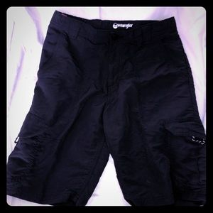Black boys nylon shorts